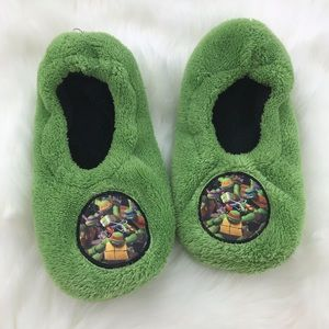 Other - Teenage Mutant Ninja Turtles Fleece Slippers S/M